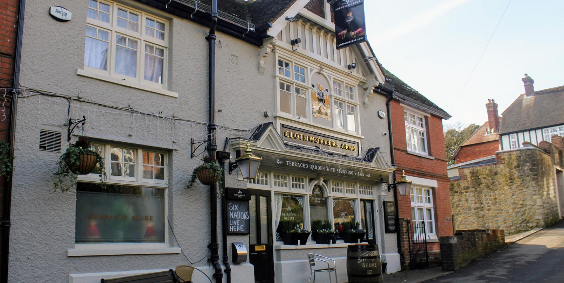 Clothworkers Arms, Sutton Valence, Maidstone